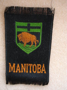 CIGARETTE SILK  SHIELD OF MANITOBA
