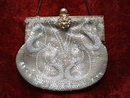 Beaded Purse France Intricate Hand Work
