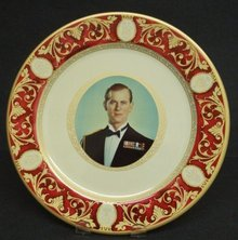 Duke of Edinburgh Plate Portland Ware