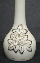 Royalty Vase Queen Elizabeth Silver Jubilee1977