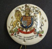 Queen Elizabeth II Silver Jubilee Pomander