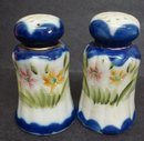 Nippon Salt&Pepper Shakers Hand Painted