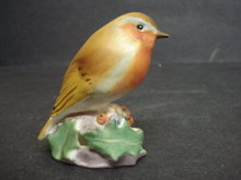 Royal Worcester Bird Figurine Robin