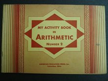 1939 a WORKBOOK in ARITHMETIC