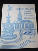 Sheet Music - LONDON CALLING 1959
