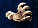 Deco BROACH GOLD TONE  Brooch