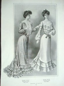 Fashion Print - BEAUTIFUL GARMENTS