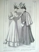 Fashion Print - EDWARDIAN ERA FASHIONS #17