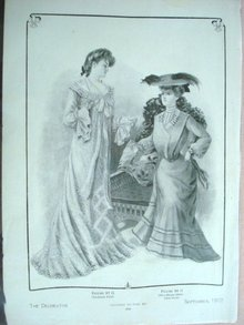 Fashion Print - EDWARDIAN ERA FASHIONS #24