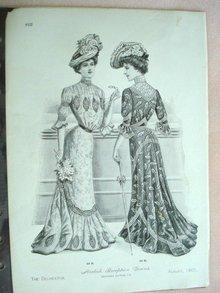 Fashion Print - EDWARDIAN ERA FASHIONS #26