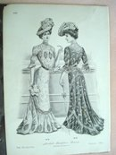 Fashion Print - EDWARDIAN ERA FASHIONS #26
