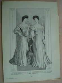 Fashion Print - EDWARDIAN ERA FASHIONS #27