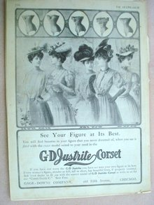 Fashion Print - EDWARDIAN ERA FASHIONS #28