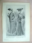 Fashion Print - EDWARDIAN ERA FASHIONS #30