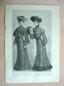 Fashion Print - EDWARDIAN ERA FASHIONS #31