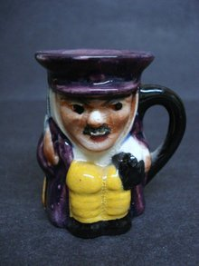 Marvelous English Miniature Character Jug