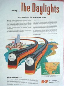 MAGAZINE ADVERTISEMENT S.P. TRAINS