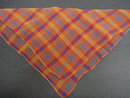 Antique Plaid Hankie Hanky Handkerchief