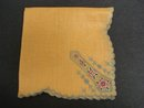 Deco Embroidery Hankie -Deco  Net Lace Insert