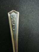 Lovely Sterling Spoon  SGCC 1941