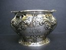 VICTORIAN STERLING BOWL / VASE ORNATE