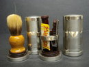Sterling Silver Shaving Set English Hallmarks