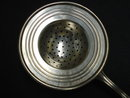 SILVER TEA STRAINER - ANTIQUE