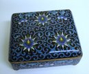 OLD CLOISONNE BOX