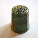 Vintage Celluloid Thimble