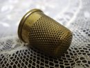 Antique Brass Thimble