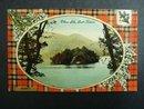 Postcard Ellens Isle Loch Katrine Scott Tartan
