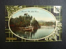 Postcard  Loch Katrine Graham Tartan