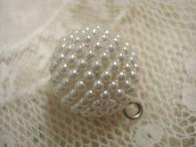 Vintage Pearl Button