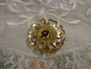 Beautiful Vintage Button - Mother of Pearl
