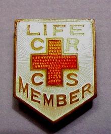 Wonderful Red Cross - C R C S PIN