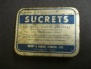 OLD SUCRETS  TIN BOX
