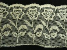 TAMBOUR FRENCH NET LACE FLORAL TRIM