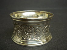 ANTIQUE NAPKIN RING - ART NOUVEAU