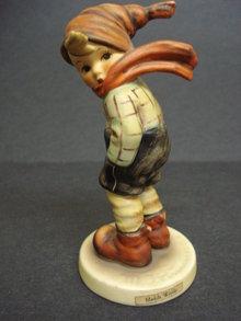 Wonderful HUMMEL/GOEBEL Figurine MARCH WINDS