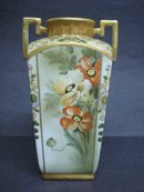 Stunningly Beautiful Hand Painted  NIPPON VASE