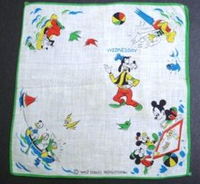 Disney Children's Handkerchief Hankie #2