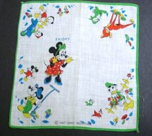 Disney Children's Handkerchief Hankie #3