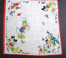Disney Children's Handkerchief Hankie #4