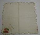 Handkerchief Hankie Souvenir of Jasper Alta
