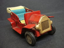 OLD METAL TOY ANTIQUE CAR