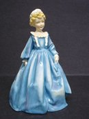 Fabulous Vintage Royal Worcester Figurine  Grandmothers Dress Artist Signed