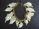 Genuine  Mother of Pearl Vintage Bracelet