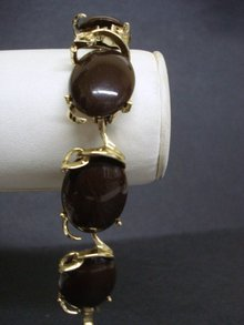 DECO THERMOSET BRACELET - CHOCOLATE BROWN