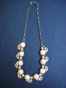 PINK THERMOSET NECKLACE