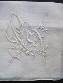 Hanky Hankie Handkerchief - Never used Mono C